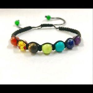 7 Chakra Healing Balance Yoga Life Energy Bracelet